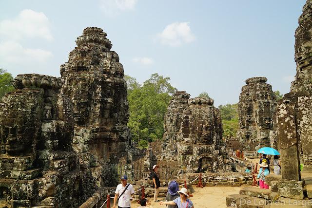Le Bayon - Angkor - Cambodge