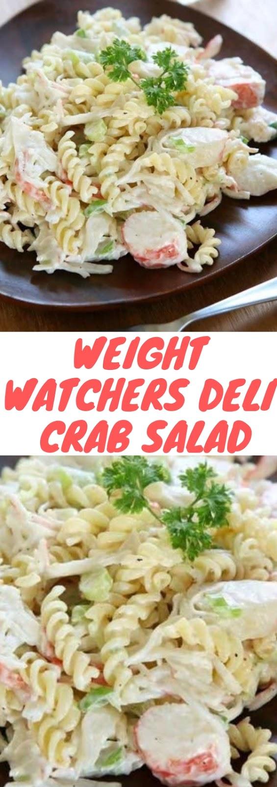 Weight Watchers Deli Crab Salad  #lunch #weightwatchers #deli #crab #salad #healthy #dietfood