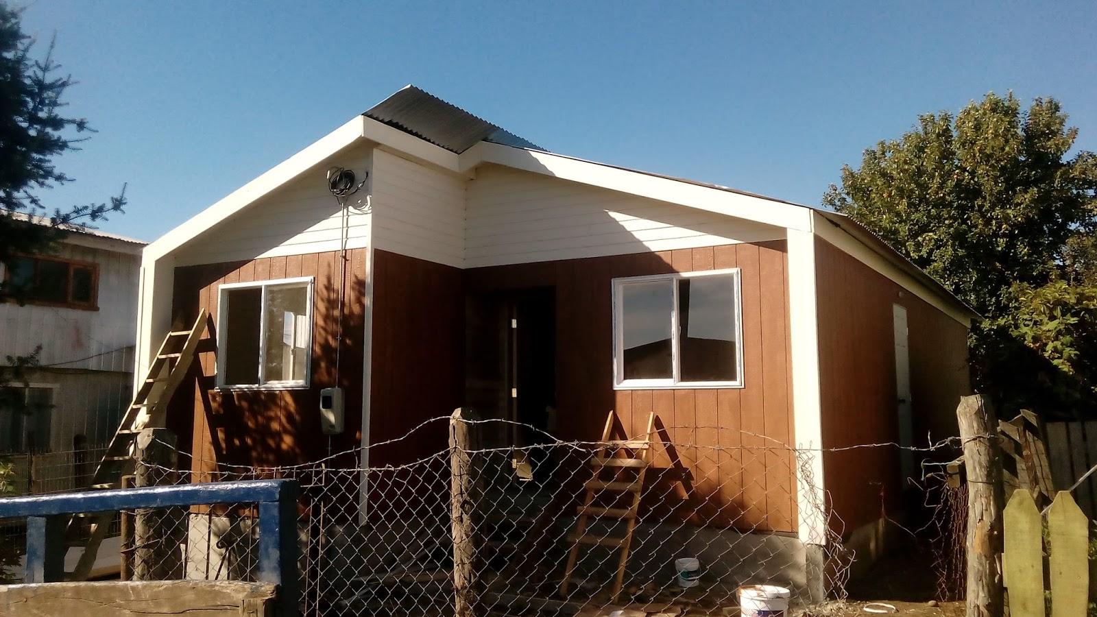 Fr construcciones pintura de casas exterior for Pintura casa exterior 2017
