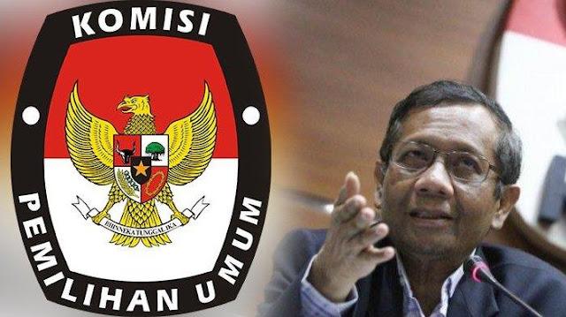 Mahfud MD: KPU Selalu Dituduh Curang oleh yang Kalah