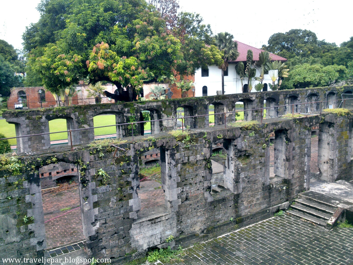 Fort Santiago has changed during the centuries, come and see how?