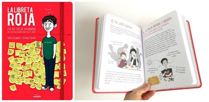 libro regalar día padre La libreta roja. 100 tips paternidad Carlos escudero