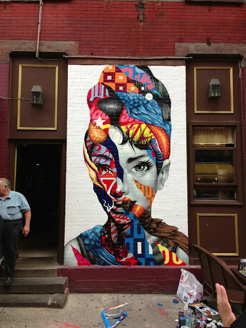street art by tristan eaton in new york city usa - 4th most popular mural of august 2013