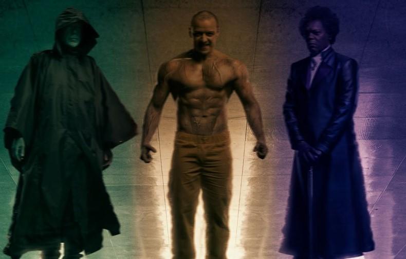 """Pôster de """"Glass"""" apresenta personagens de Corpo Fechado e Fragmentado juntos"""