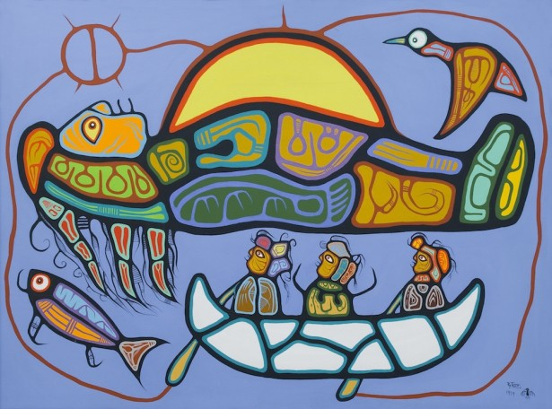 Roy Tomas Anishinaabe Medicine Painter