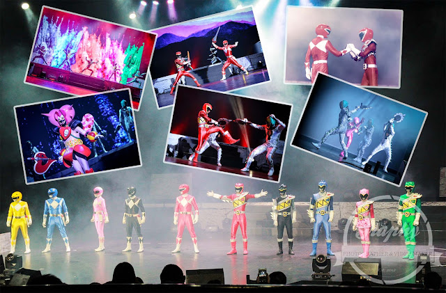 Superhero Power Rangers live Genting