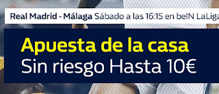 william hill promocion apuesta invita la casa Real Madrid vs Malaga 25 noviembre