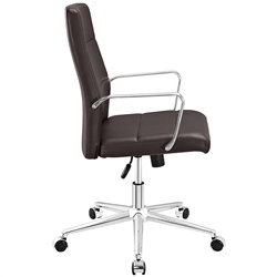 Stride Mid Back Chair in Brown