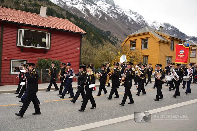 Majowe święto w Norwegii