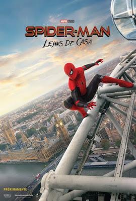 """Tres nuevos póster de """"Spider-Man: Lejos de Casa""""."""