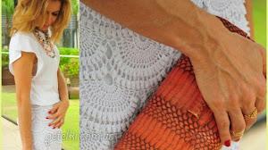 Patrones crochet para espectacular pantalón