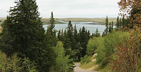 elkwater cypress hills provincial park alberta