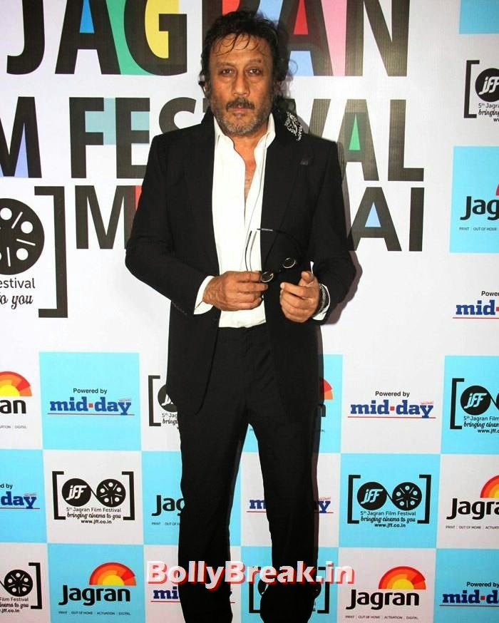 Jackie Shroff, 5th Jagran Film Festival Red Carpet Pics