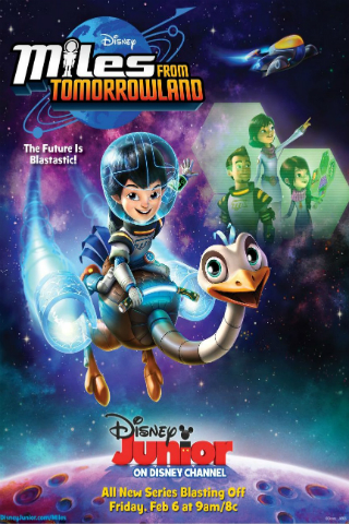 Miles from Tomorrowland [2015] [DVDR] [NTSC] [Latino]