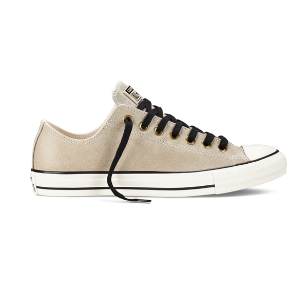 purchase cheap fac76 47ca5 Converse Chuck Taylor All Star Vintage Leather Ox. Parchment Black. 149485C