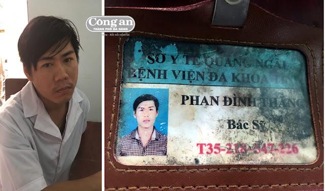 Quảng Ngãi Phát hiện bác sĩ dỏm lừa đảo trong bệnh viện