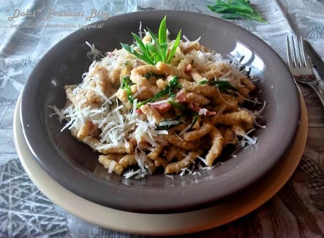 Passatelli asciutti con Stridoli, ricetta romagnola