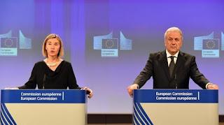 EU mulls bringing back border controls to undertake security threats
