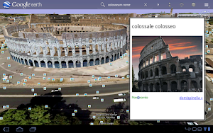 Google Earth auf Honeycomb