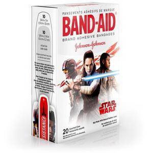 Miếng Dán Cá Nhân Hoạt Hình Cho Bé Star Wars Band Aid Hàng Mỹ Xách Tay
