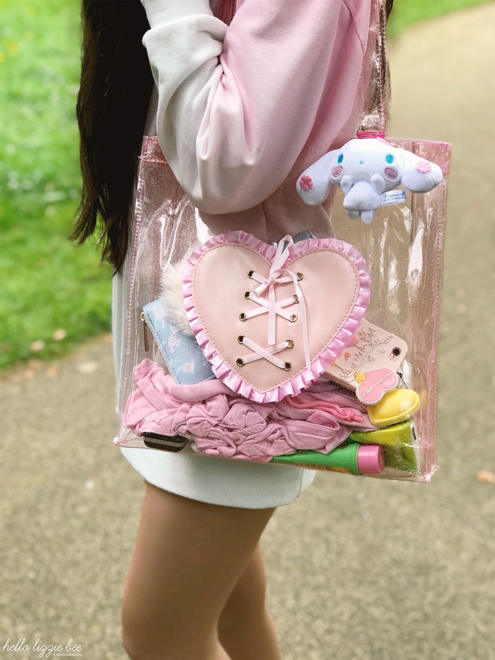 dreamy bows bag, kawaii fashion