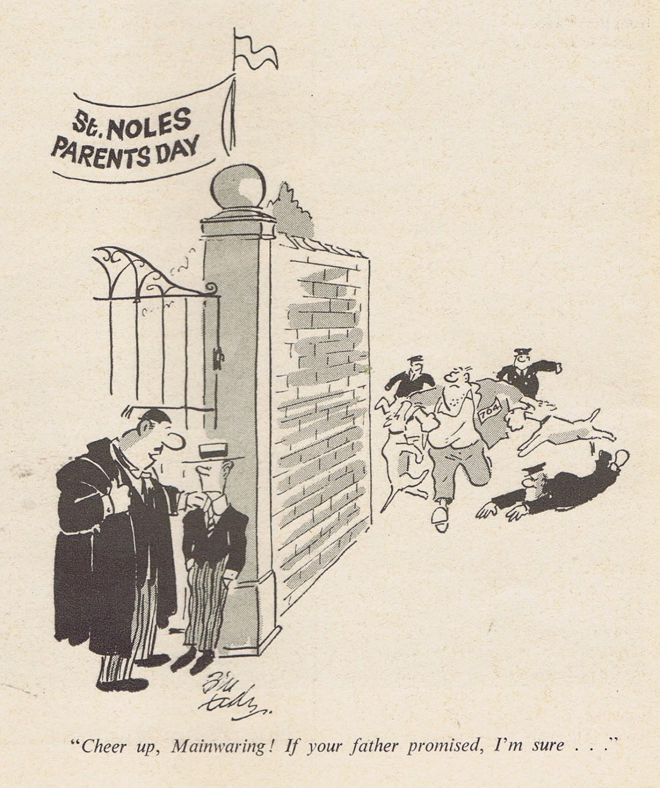 Cathy comic strip 1946-1963