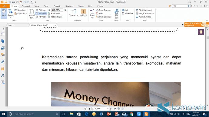 foxit reader pembaca pdf
