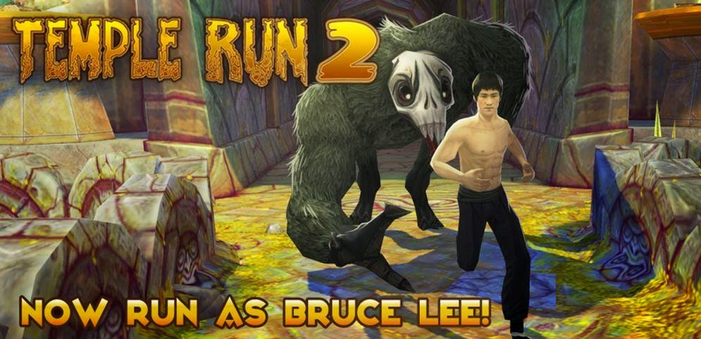 Temple Run 2 bruce lee