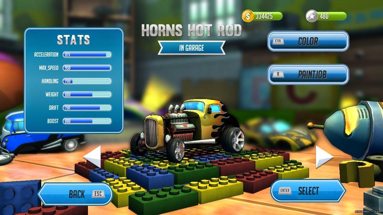 review super toy cars nintendo wii u digitally downloaded. Black Bedroom Furniture Sets. Home Design Ideas