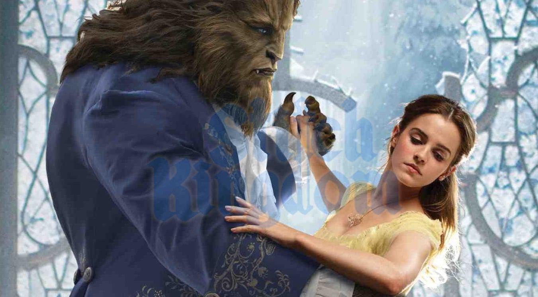 """Princesa e Criatura na primeira imagem de """"A Bela e a Fera"""", com Emma Watson e Dan Stevens"""