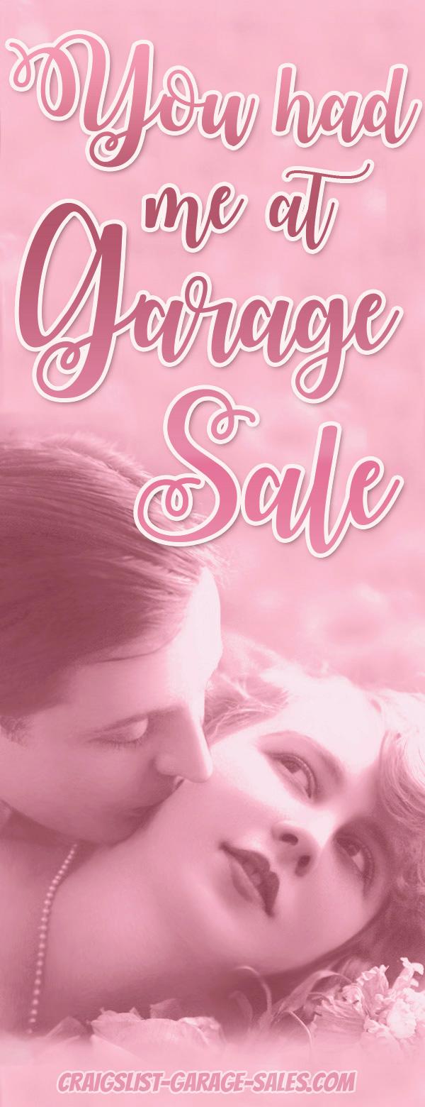 Garage Sale Blog: You had me at 'Garage Sale'