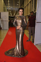 Actress Catherine Tresa in Golden Skin Tight Backless Gown at Gautam Nanda music launchi ~ Exclusive Celebrities Galleries 112.JPG