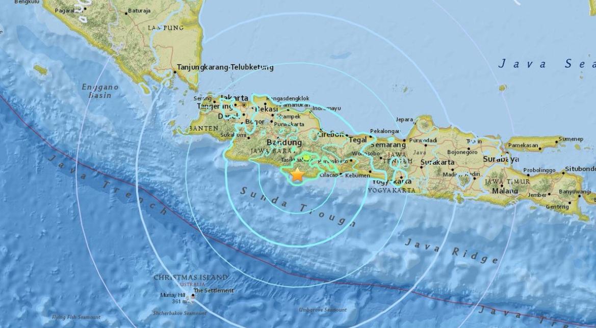 Terremoto Oggi Indonesia: Forte scossa M6,5 a Giava con morti e edifici crollati. Tsunami revocato