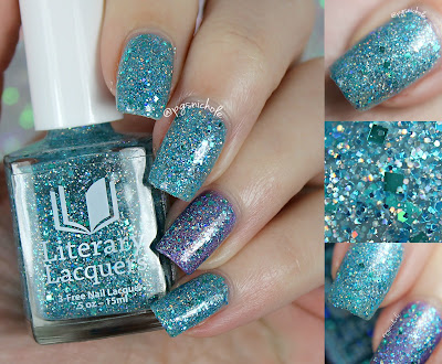 Literary Lacquers Tia Wanna | The Nailed Collection