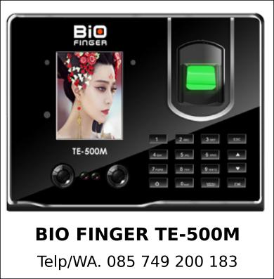 Supplier Mesin Absensi Bio Finger TE-500M Asli Terbaik
