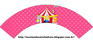 The Circus for Girls: Free Printable Cupcake Wrappers and Toppers.
