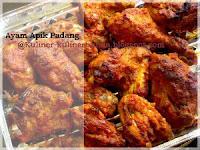 Ayam Apik yakni salah satu kuliner khas dari Padang Resep Masakan Ayam Apik Padang