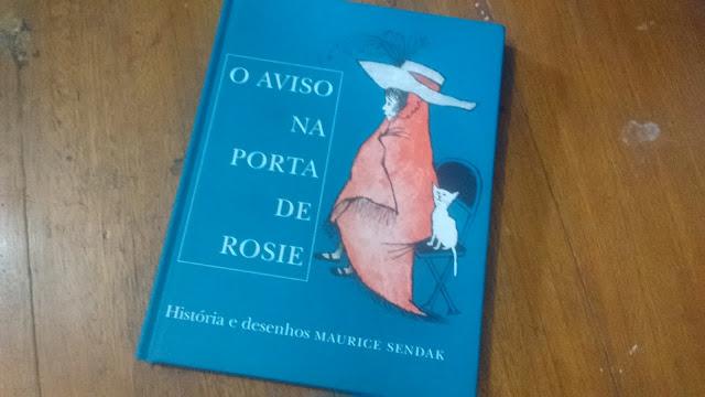 O aviso na porta de Rosie: livro para crianças de todas as idades!
