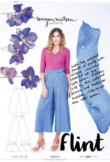 Megan Nielsen Flint Lydia Trousers