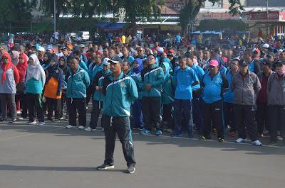 Atlet PNS Karawang Ikuti Lomba Porpemkab
