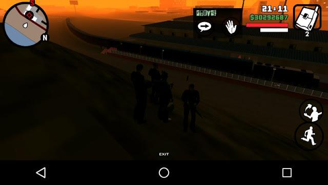 Long Train Mod GTA SA Mobile (Android)