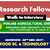 Walk-In-Interview-28th Dec 2017 | Food Science & Technology