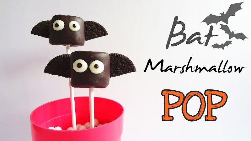 Bat Marshmallow Pop 蝙蝠棉花糖棒