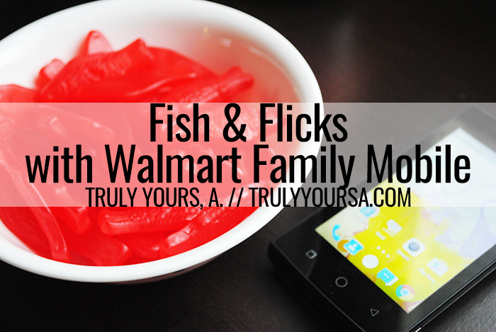Looking for a different twist on date night? Let Walmart Family Mobile and Swedish Fish help you plan a Fish and Flicks movie night at home!