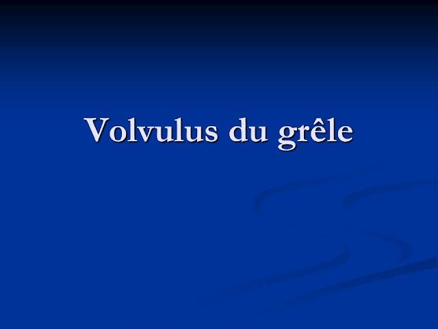 Volvulus du grêle .pdf