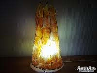 Lámpara fuego