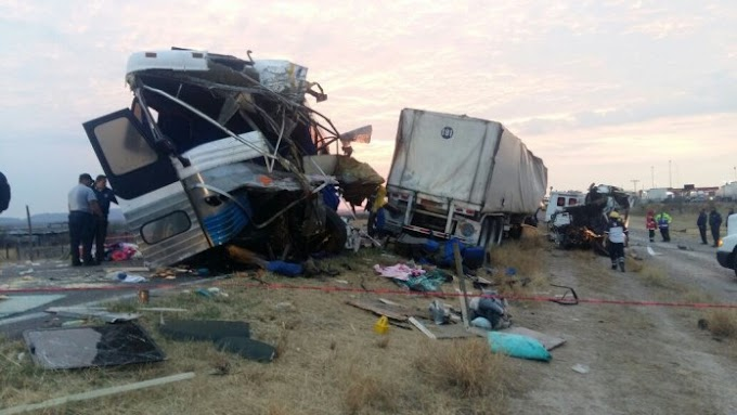 11 muertos en accidente, autobús habría salido de Pijijiapan Chiapas