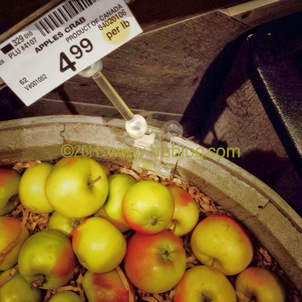 crabapples produce aisle 3rsblogdotcom