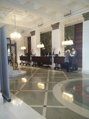 Lobby and check-in desks, Iberostar Grand Hotel Mencey