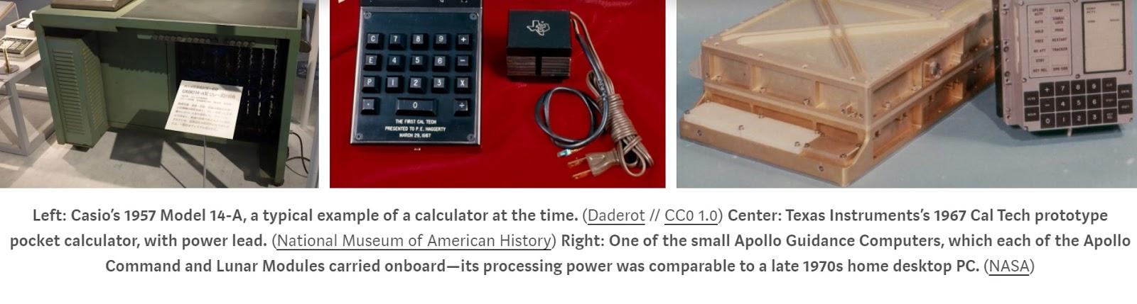 Meet Your Smartphone's Grandparent: Pocket Calculator / Digital